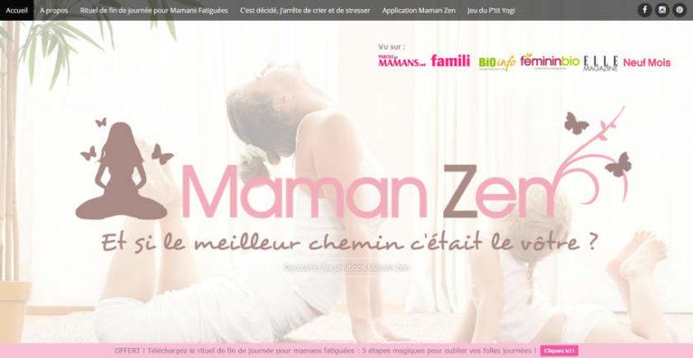 Julie Lemaire, créatrice de Maman Zen